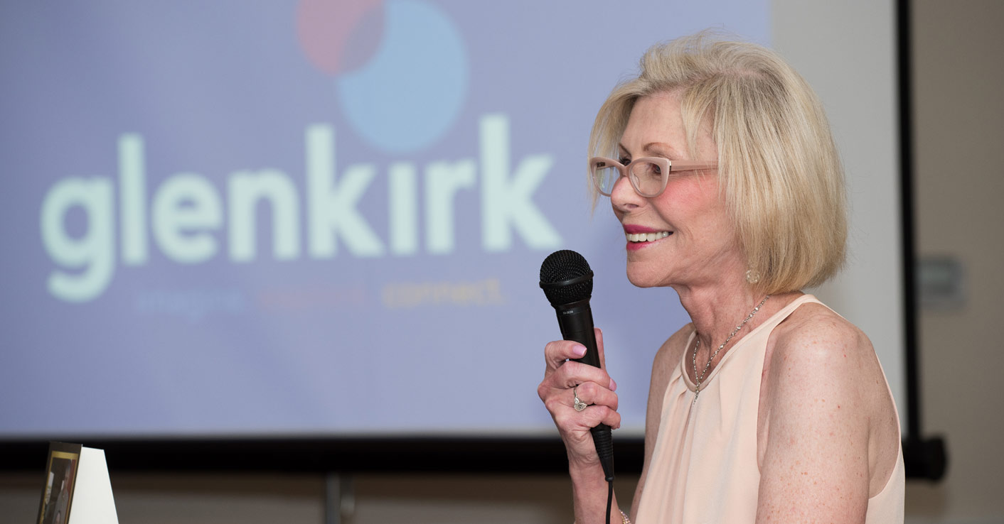 Glenkirk Annual Benefit Bash - Speaker with microphone